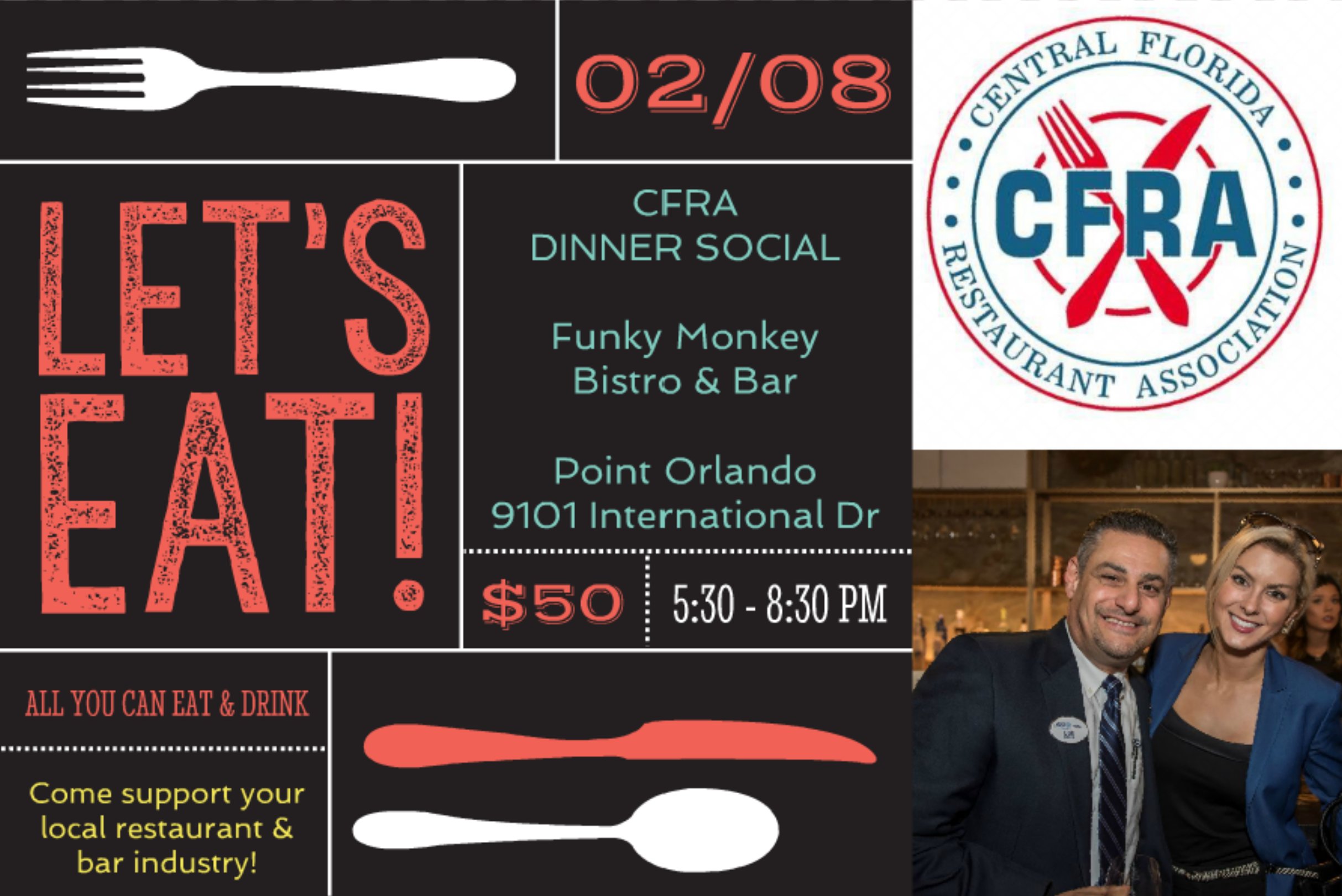 Inaugural Social Dinner for the CFRA Image