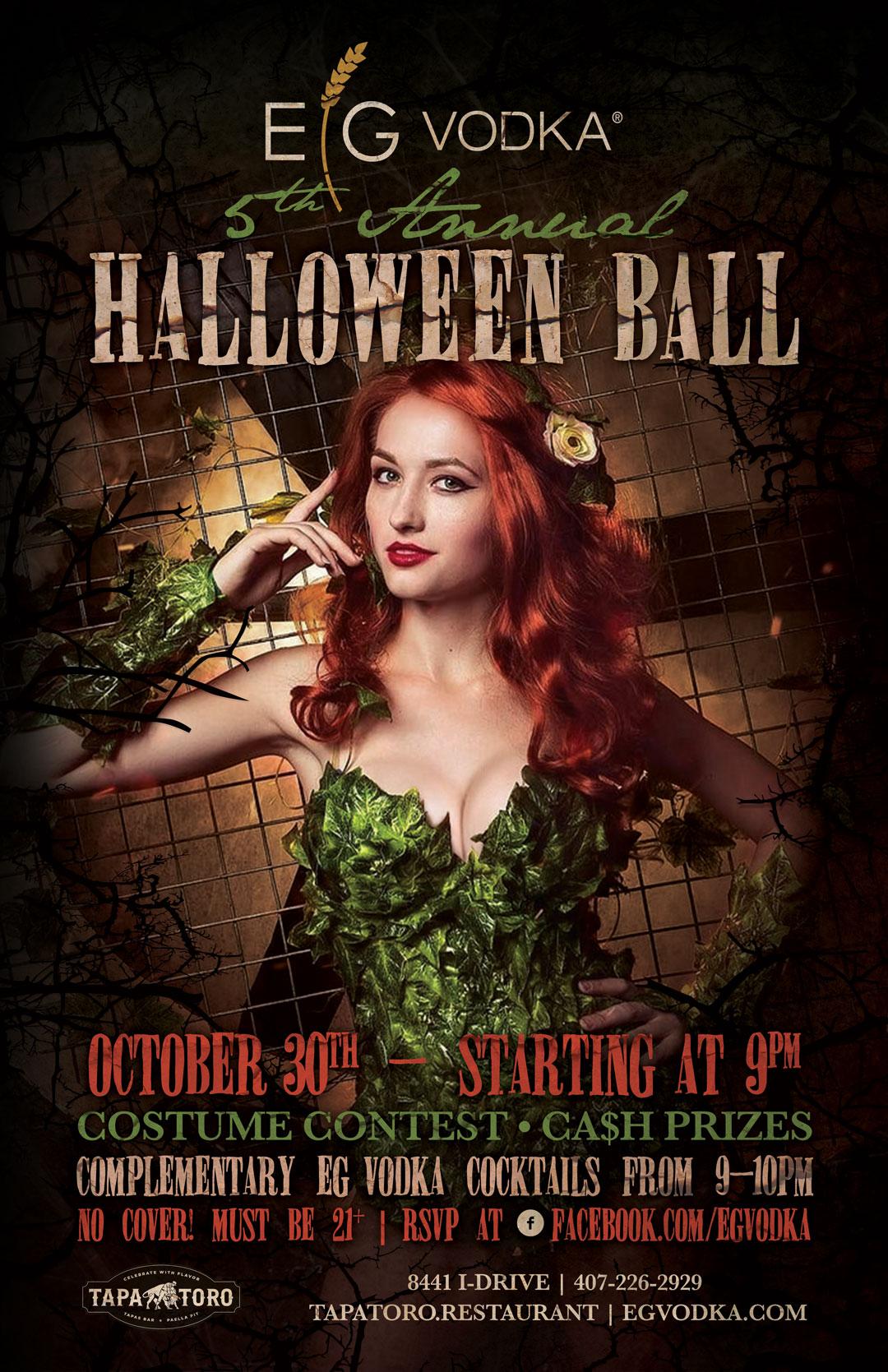5th Annual EG Vodka Halloween Ball Image